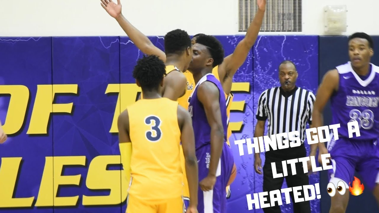 THINGS GOT A LITTLE CHIPPY IN THIS ONE!! Faith Family vs Lincoln Game Highlights