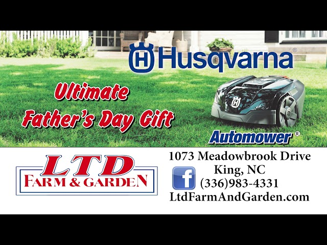 Buy Your Dad A Husqvarna Automower For Father's Day!