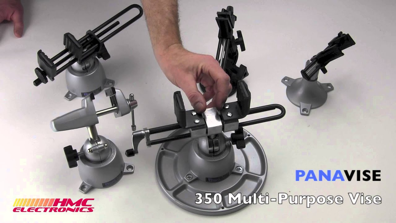 The Panavise 350 Multi Purpose Vise Youtube 315 Circuit Board Holder
