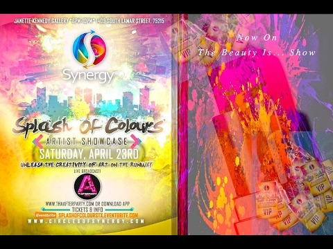 Splash of Colours Artist Showcase | Fashion Show Dallas, TX