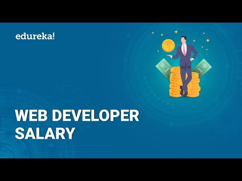 Web Developer Salary | Average Salary Of A Web Developer In India & US | Edureka