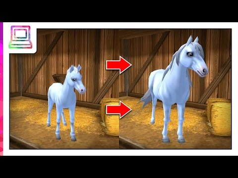 Star Stable Horses - My Horse Growing Up