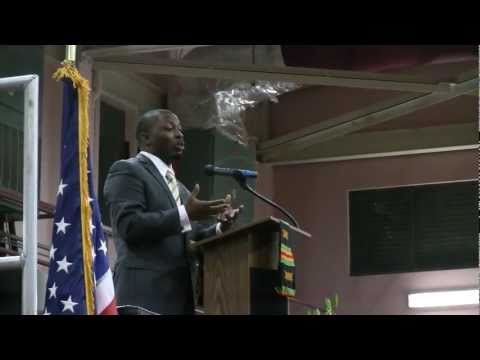 Sherman Browne addresses the Ivanna Eudora Kean High School Class of 2011 (Full Introduction)