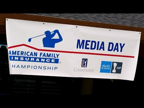 Media Day At The 2019 American Family Insurance Championship | @AmFam®