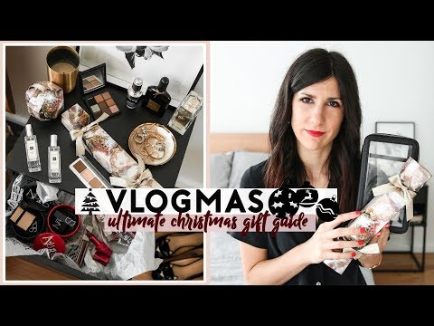 VLOGMAS – Christmas Gift Guide 2018 (Beauty, Fashion, Travel, Food, Experiences) | Mademoiselle