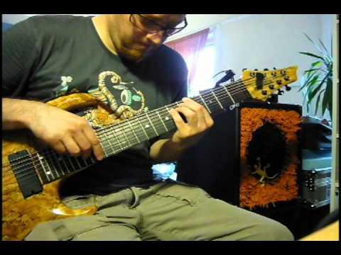 James Bond - A View To A Kill - 8 string guitar (solo piece)