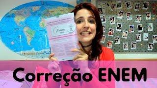 ENEM 2015 - CORREÇÃO, CADERNO ROSA, MATEMÁTICA | A Matemaníaca