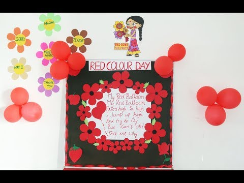Red Colour Day Celebrations - YouTube