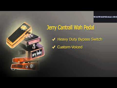 Jerry Cantrall Cry Baby Wah Pedal