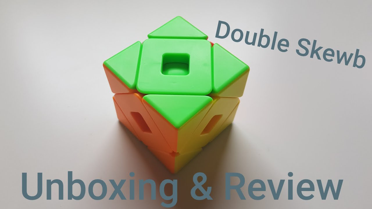 Double Skewb - Unboxing & Review - Cubezz.com