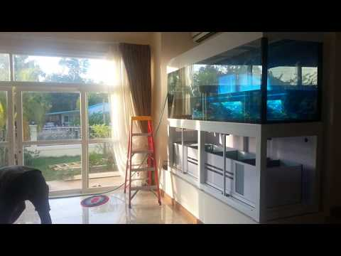 Install my aquarium 1600 L Thailand.mp4