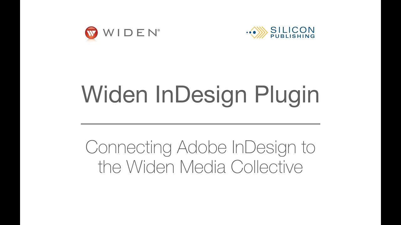 The Widen InDesign Plugin