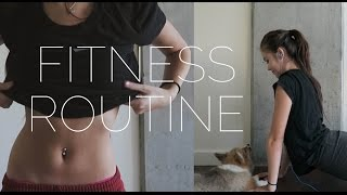 My Fitness Routine Ft. My Corgi Puppy | Viviannnv