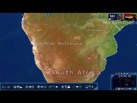 Geopolitical Simulator 4: African Diamond Cartel pt. 1 - Strategic Overview