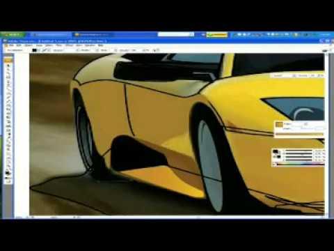 Fast Drawing Illustrator Vector Art Youtube