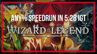 Wizard of Legend | Any% Speedrun World Record | 5:28 IGT