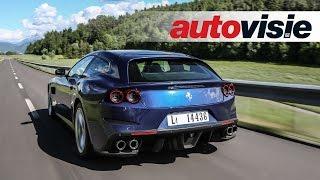 Review New Ferrari GTC4Lusso (2016) - by Autovisie TV
