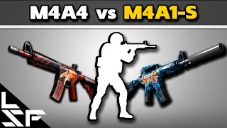 M4A4 VS M4A1-S - CS:GO Tips & Tricks
