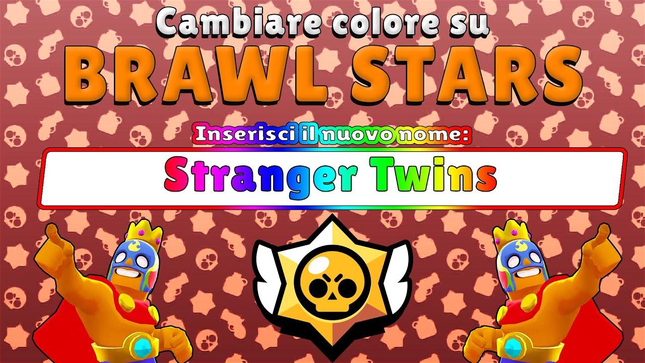 Come Cambiare Il Colore Del Nome Su Brawl Stars Tutorial Youtube