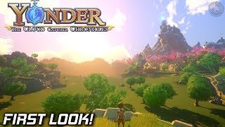 Yonder Open World Crafting Game | First look | EP1 | Yonder Gameplay