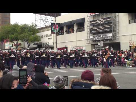 United States Marine Corps West Coast Composite Band, Tournament of Roses Parade 2017