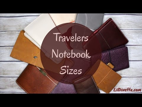Travelers Notebook Sizes - TN Video Series