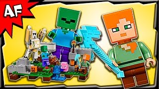 Lego Minecraft IRON GOLEM 21123 Stop Motion Build Review