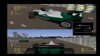 Newman Haas Test Run