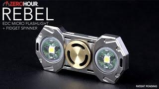 ZEROHOUR Flashlight Fidget Spinner, Nova & iblazr Wireless Led Flashlights.
