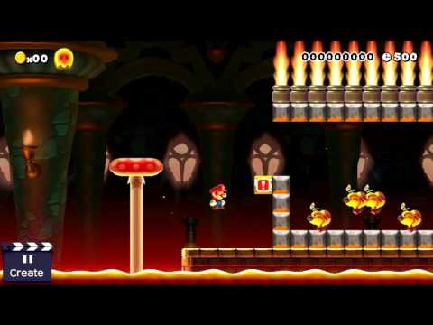 Stampy And Sqaishey Mario Maker : Super Mario Maker Level For Sqaishey (4) - YouTube