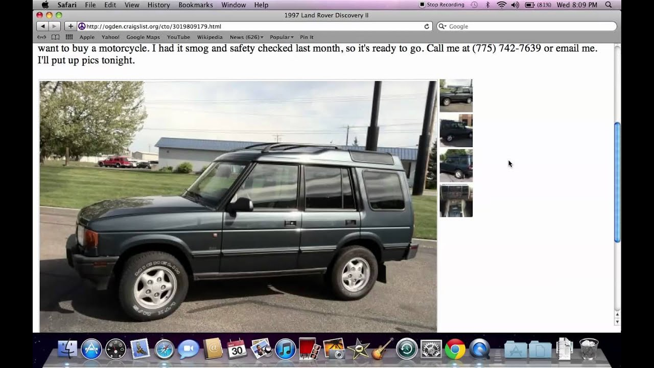 Craigslist Clearfield Utah Used Cars And Trucks By