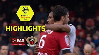 EA Guingamp - OGC Nice (2-5) - Highlights - (EAG - OGCN) / 2017-18