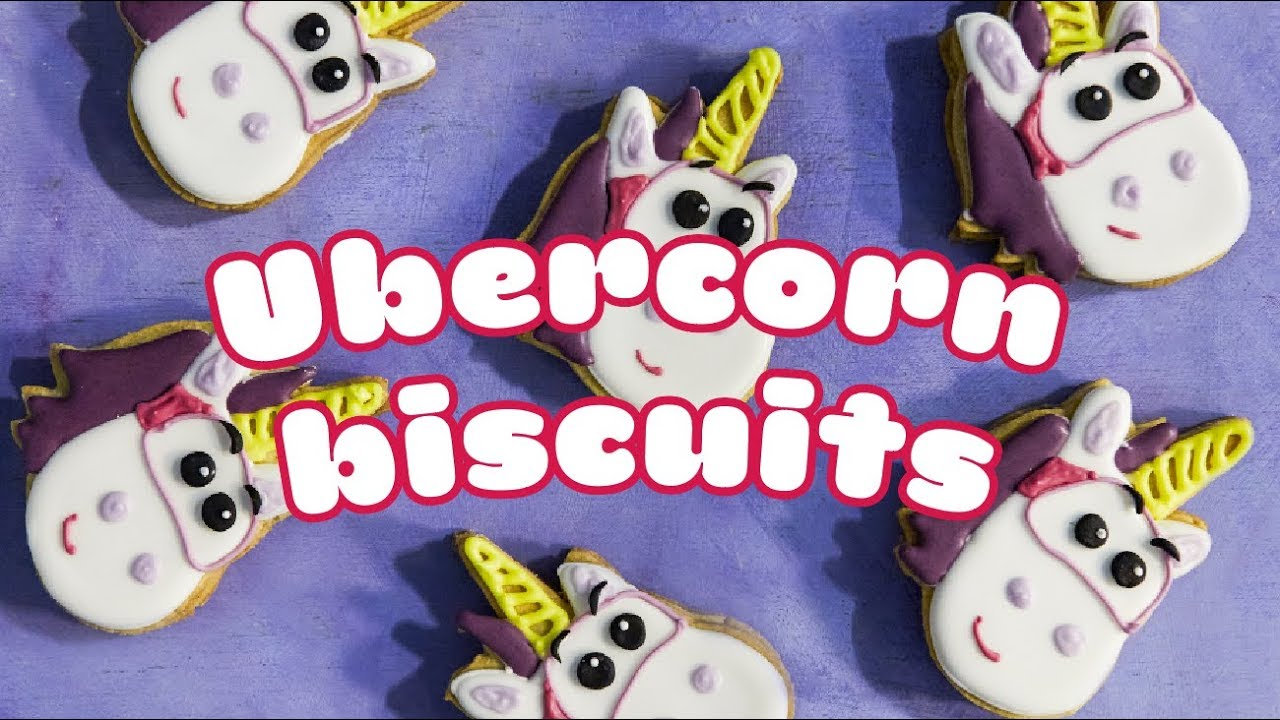 How To Make Go Jetters Ubercorn Biscuits Bbc Good Food Kids