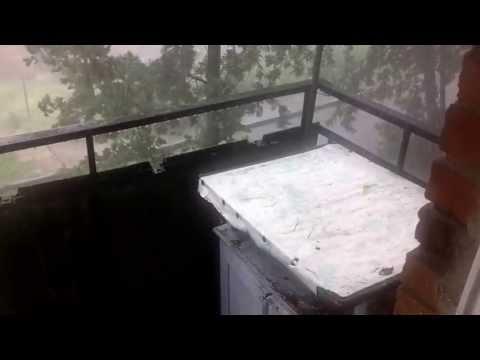 Вот такое хреновое лето: Сегодня в России опять выпал снег!