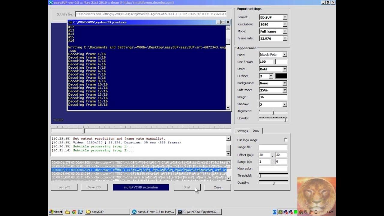 3d subtitle converter free download