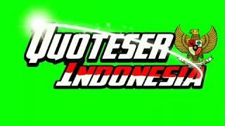 Green Screen Qouteser Indonesia Burung Garuda Youtube