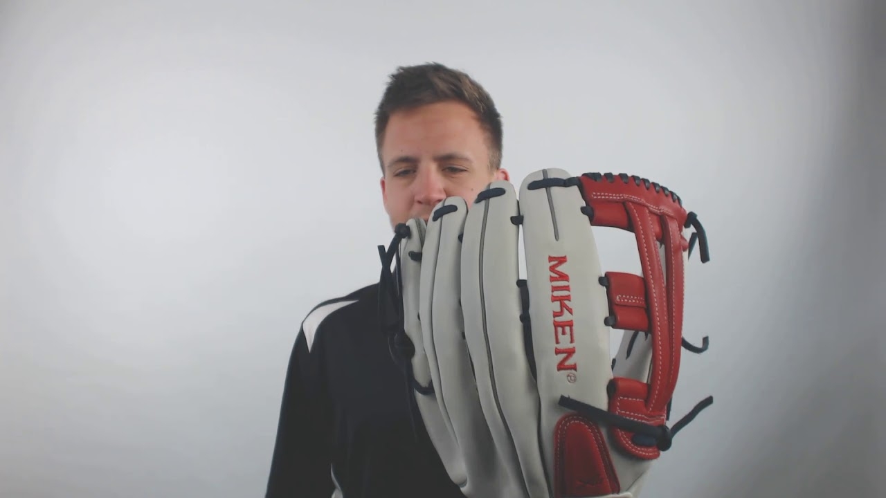 Review 2019 Miken 14 Pro Series Slow Pitch Softball Glove Pro140 Wsn