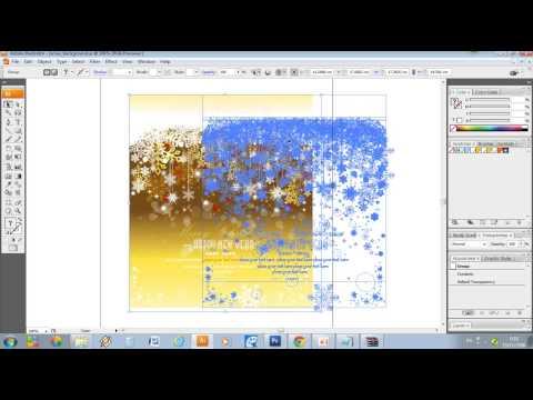 สื่อการเรียนการสอนวิธีการทำการ์ดอวยพรแบบง่ายๆโดยใช้โปรแกรม Photoshop CS3 + Adobe Illustrator