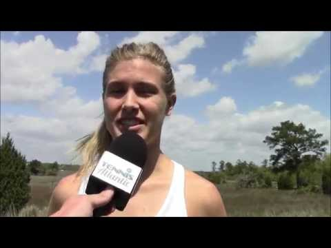 60 Seconds with Genie Bouchard: Family Circle Cup