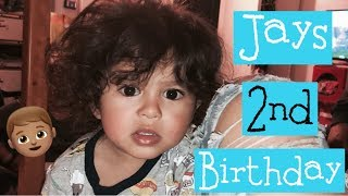 JAYDENS 2ND BIRTHDAY CELEBRATION!!