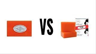 Kojic Acid Soap vs Kojie Sans Soap for Blemishes & Hyperpigmentation+ glutathione next skin care