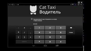 Регистрация водителя в такси