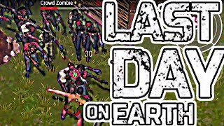 ZOMBIE SWARM ATTACK! - LAST DAY ON EARTH!
