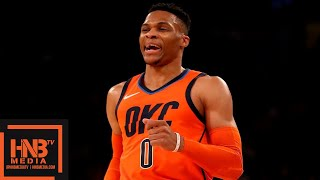 OKC Thunder vs New York Knicks Full Game Highlights | 01/21/2019 NBA Season