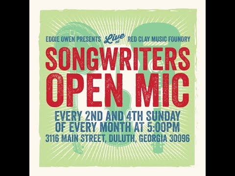 EOP Songwriters' Open Mic 3/24/19