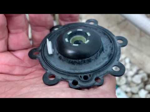 How To Replace The Diaphragm In A Rain Bird Sprinkler Valve