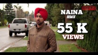 Naina ||  Jatt & Juliet 2 || Nazran Beats Mix || Ft RAV SAINI