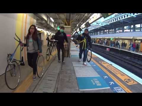 Guangzhou Keep On Fixed Gear 4 footage