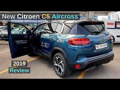 New Citroen C5 Aircross 2019 Review Interior Exterior