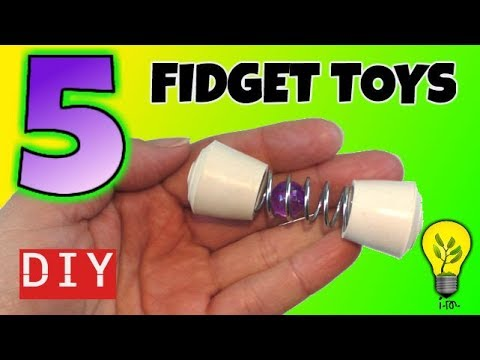 5 Easy Diy Fidget Toys New Fidget Toys For School Fidget Toys